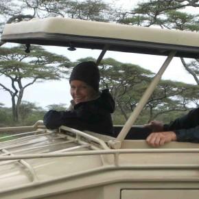 Lori Robinson leads Kenyan safari