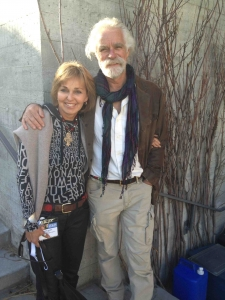 The lovely and amazing Derek and Beverly Joubert