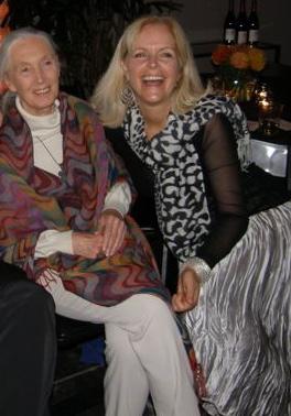 Jane Goodall & Lori Robinson