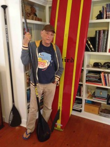 RIc O'Barry talks to SavingWild.com about his love for paddle boarding.