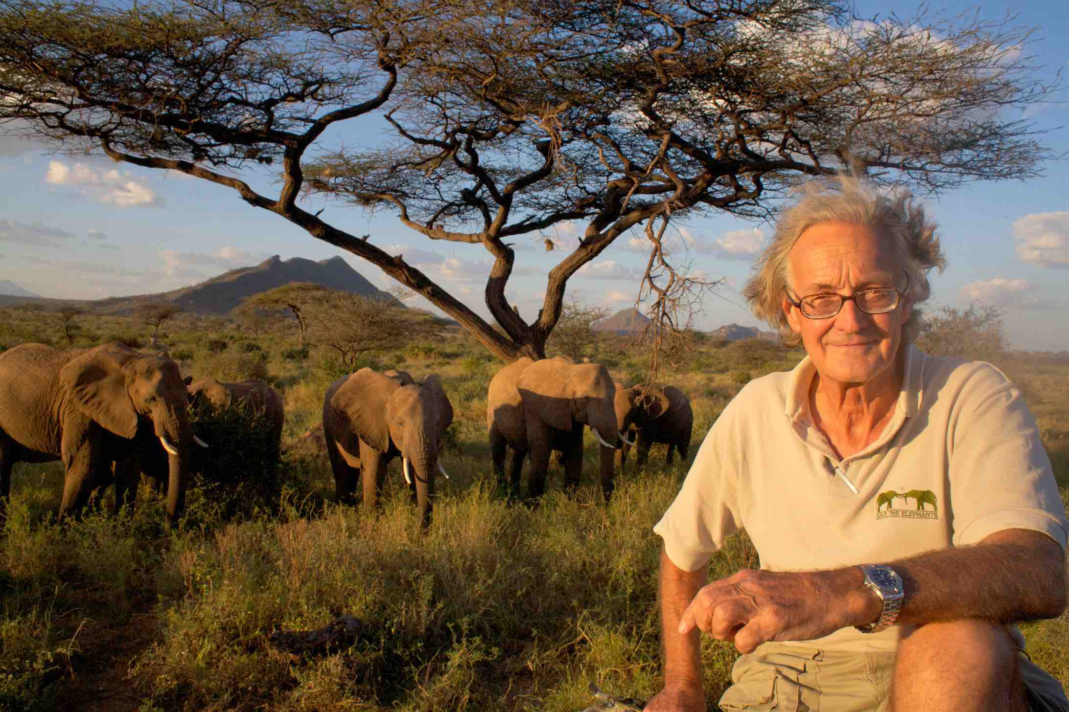 Iain Douglas Hamilton inspires for Saving Wild elephants