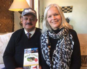 Dr. Sarma and Lori Robinson for Wild Lives